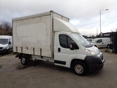 Citroen Relay Curtain Side 2.2 HDi 35 L3 Chassis Cab 2dr