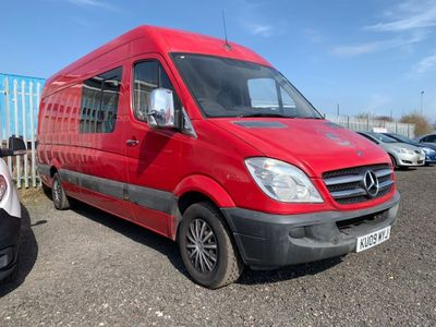 Mercedes-Benz Sprinter Panel Van 2.1 CDI 311 Extra High Roof Panel Van 5dr (LWB)
