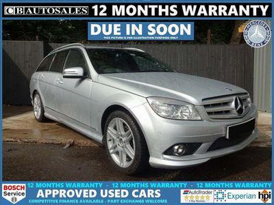 Mercedes-Benz C Class Estate 1.8 C200 Kompressor SE 5dr