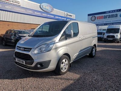 Ford Transit Custom Panel Van 290 Limited Lr P/V L1
