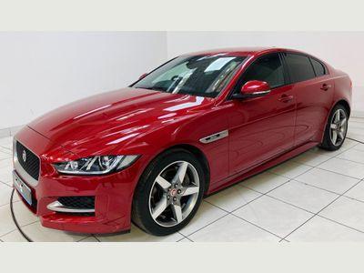 Jaguar XE Saloon 2.0i R-Sport Auto (s/s) 4dr