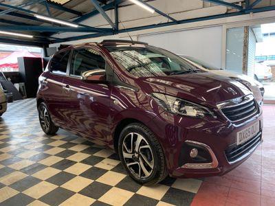 Peugeot 108 Convertible 1.2 PureTech Allure Top! 5dr