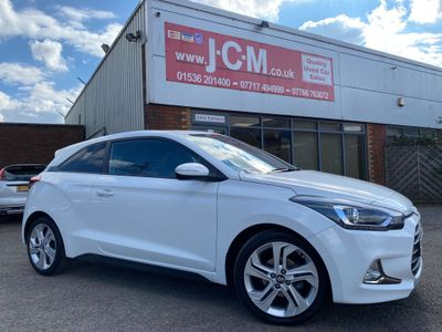 Hyundai i20 Coupe 1.2 Blue Drive Sport (s/s) 3dr