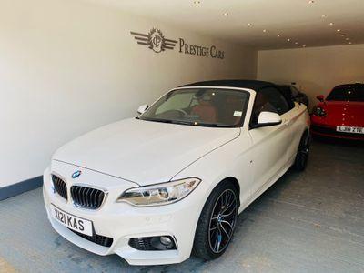 BMW 2 Series Convertible 2.0 218d M Sport Auto (s/s) 2dr