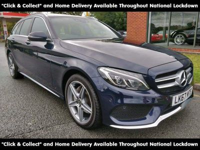 Mercedes-Benz C Class Estate 2.0 C200 AMG Line (Premium Plus) G-Tronic+ 4MATIC (s/s) 5dr