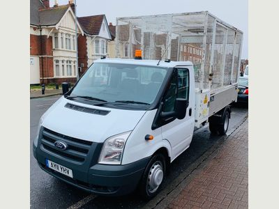 Ford Transit Tipper Tipper lorry.
