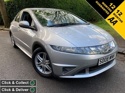 Honda Civic Hatchback 1.4 i-DSI SE Plus 5dr (Metallic Paint)