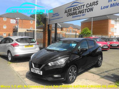 Nissan Micra Hatchback 1.5 dCi N-Connecta (s/s) 5dr