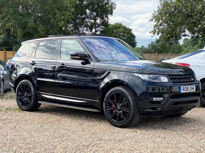 Land Rover Range Rover Sport SUV 3.0 SD V6 Autobiography Dynamic 4X4 (s/s) 5dr
