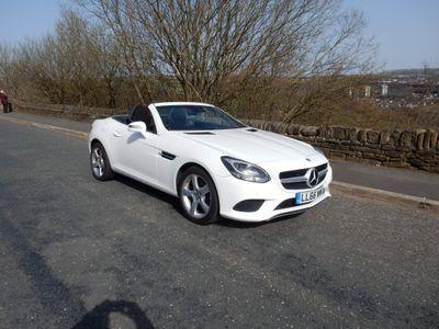 Mercedes-Benz SLC Convertible 2.1 SLC250d Sport G-Tronic (s/s) 2dr