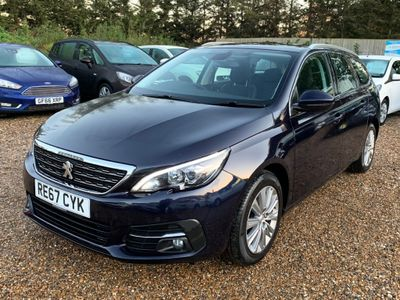 Peugeot 308 SW Estate 1.6 BlueHDi Allure (s/s) 5dr