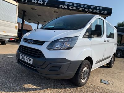 Ford Transit Custom Unlisted 2.0 TDCi 290 Double Cab-in-Van L1 H1 6dr (EU6)