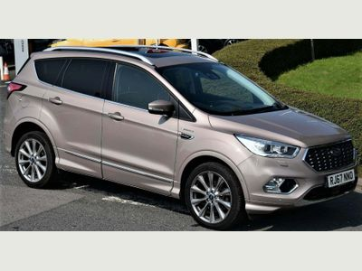 Ford Kuga SUV 2.0 TDCi EcoBlue Vignale Powershift AWD (s/s) 5dr