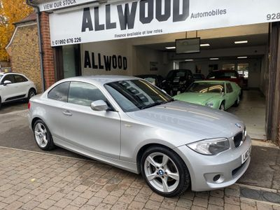 BMW 1 Series Coupe 2.0 118d Exclusive Edition Auto 2dr