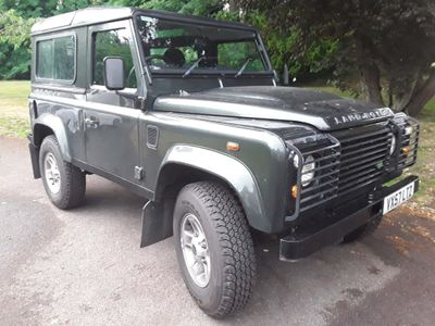 Land Rover Defender 90 SUV 2.4 TDi County Hard Top 3dr Diesel Manual 4X4 (266 g/km, 120 bhp)