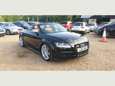 AUDI TTS Convertible 2.0 TFSI Black Edition Roadster S Tronic quattro 2dr