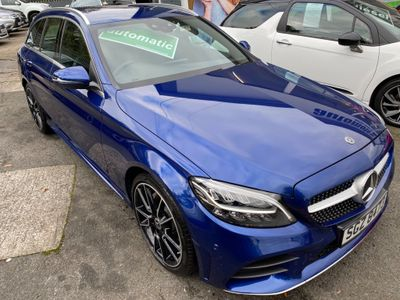 Mercedes-Benz C Class Estate 1.5 C200 EQ Boost AMG Line G-Tronic+ (s/s) 5dr