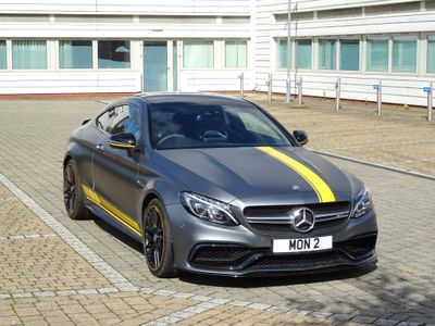 Mercedes-Benz C Class Coupe 4.0 C63 V8 BiTurbo AMG S Edition 1 Motorsport SpdS MCT (s/s) 2dr