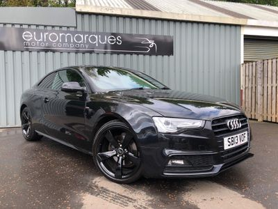 Audi A5 Coupe 2.0 TDI Black Edition Multitronic 2dr