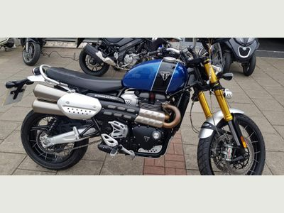 Triumph Scrambler 1200 Naked 1200 XE