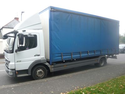 Mercedes-Benz 207 Curtain Side 816 ATEGO CURTAINSIDER 7.5T TAIL-LIFT