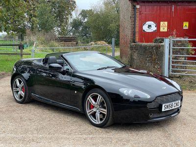 Aston Martin Vantage Convertible 4.3 V8 Roadster 2dr