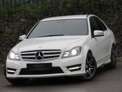Mercedes-Benz C Class Saloon 2.1 C250 CDI AMG Sport Plus 4dr