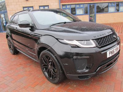 Land Rover Range Rover Evoque Coupe 2.0 TD4 HSE Dynamic Lux Auto 4WD (s/s) 3dr