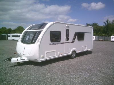 Swift Challenger Sport 554 Tourer 2012 FIXED BED 2 OWNERS