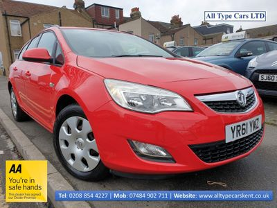 Vauxhall Astra Estate 1.4 i VVT 16v Exclusiv 5dr