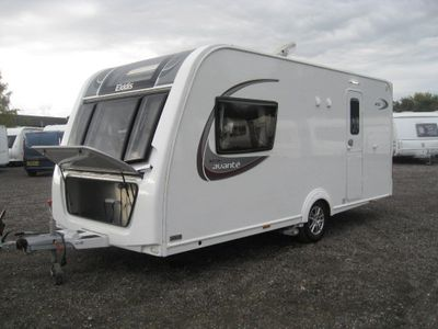Elddis AVANTE 482 Tourer 2016 2 BERTH WITH MOVER AND WARRANTY