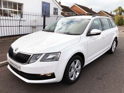 SKODA Octavia Estate 1.6 TDI CR SE Technology (s/s) 5dr