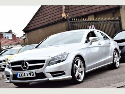 Mercedes-Benz CLS Coupe 3.5 CLS350 BlueEFFICIENCY AMG Sport 7G-Tronic Plus (s/s) 4dr