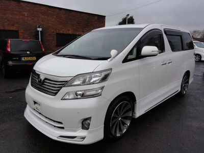 Toyota Vellfire MPV Z EDITION WITH DEALER FITTED BODY KIT