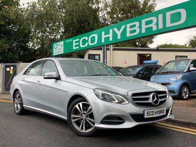 MERCEDES-BENZ E CLASS Saloon 2.1 E300 CDI BlueTEC SE 7G-Tronic Plus 4dr