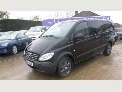 Mercedes-Benz Vito Panel Van 3.0 120CDI Dualiner Comfort Long Panel Van 5dr