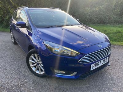 Ford Focus Estate 1.0T EcoBoost Titanium (s/s) 5dr