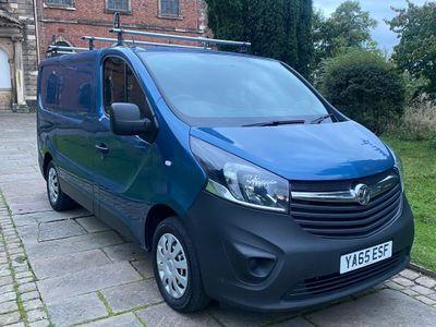 Vauxhall Vivaro Panel Van 1.6 CDTi 2700 BiTurbo ecoFLEX L1 H1 EU5 (s/s) 5dr