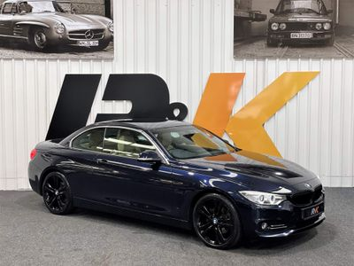 BMW 4 Series Convertible 2.0 420d Luxury Auto (s/s) 2dr