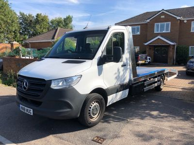 Mercedes-Benz Sprinter Vehicle Transporter 2.1 314 CDi RWD L2 EU6 16FT RECOVERY