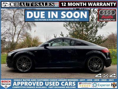 Audi TT Coupe 2.0 TDI Black Edition quattro 3dr