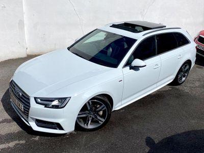 Audi A4 Avant Estate 2.0 TFSI S line Avant S Tronic quattro (s/s) 5dr