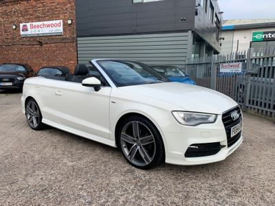 Audi A3 Cabriolet Convertible 2.0 TDI S line Cabriolet S Tronic 2dr