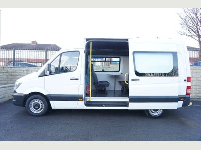 Mercedes-Benz Sprinter Combi Van Mess Unit 2.1 CDI 313 High Roof MWB