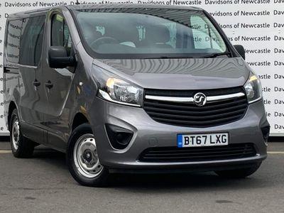 Vauxhall Vivaro Combi Van 1.6 CDTi 2900 BiTurbo ecoTEC L1 H1 EU6 (s/s) 5dr (9 Seat)