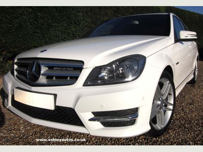 Mercedes-Benz C Class Saloon 2.1 C220 CDI BlueEFFICIENCY AMG Sport 7G-Tronic Plus 4dr
