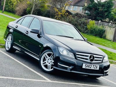 Mercedes-Benz C Class Saloon 1.6 C180 BlueEFFICIENCY AMG Sport 7G-Tronic Plus 4dr (COMAND)
