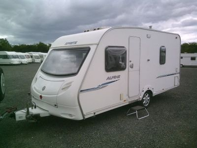 Swift Sprite Tourer 2007 4 BERTH WITH EXTRAS