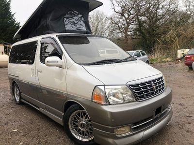 Toyota HIACE GRANVIA POP TOP 4 BERTH BRAND NEW HIGH Unlisted QUALITY SLIMLINE SIDE CAMPER CONVERSION V6 NEW LPG 38K