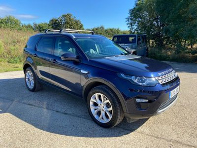 Land Rover Discovery Sport SUV 2.2 SD4 HSE 4WD (s/s) 5dr